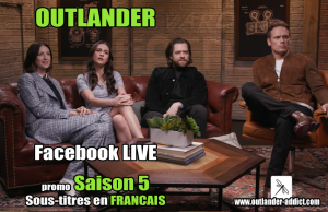 Outlander Facebook live season 5