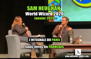 Sam Heughan World Wizard