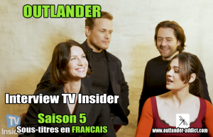 Outlander Interview TV Insider 2020