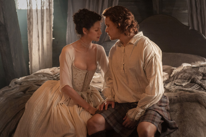 Le Sexe dans Outlander Saison 1 épisode 7 le mariage