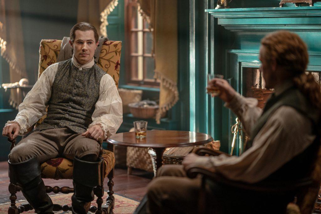 Outlander saison 5 episode 11 Lord John Grey fait ses adieux à Jamie