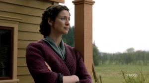 Outlander épisode 2 saison 5 scène coupée Dent de Loutre