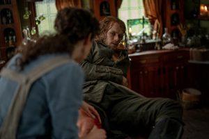 Jamie mordu par un serpent episode 9 saison 5 Outlander
