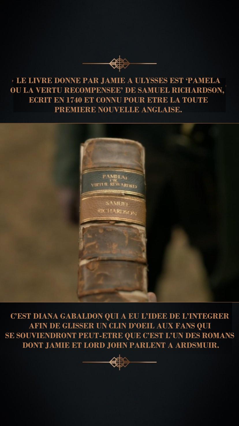 Anecdote coulisse episode 11 saison 5 Outlander