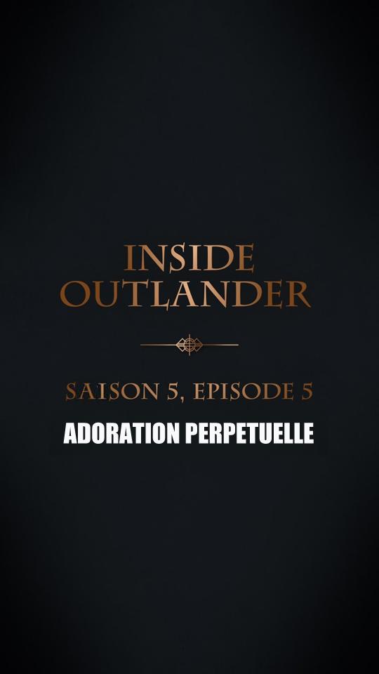 Coulisses episode 5 saison 5 Outlander 2