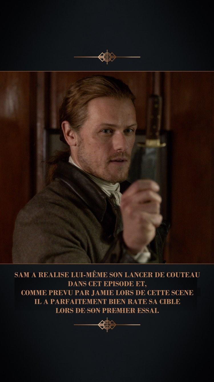 Coulisses episode 5 saison 5 Outlander 8