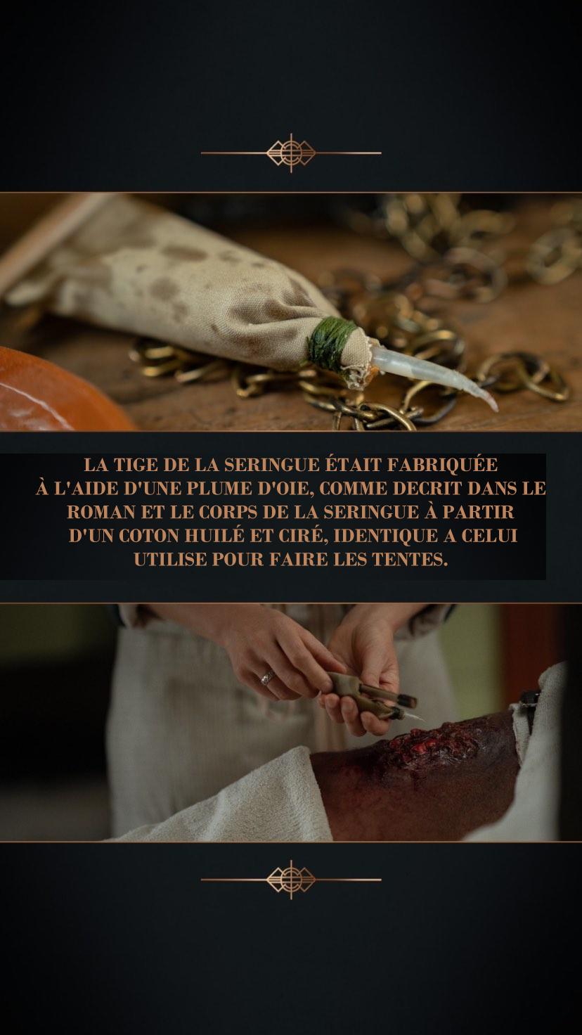 Anecdote coulisses episode 9 saison 5 outlander