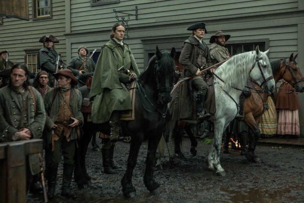 Outlander Saison 5 episode 5 Jamie et sa milice