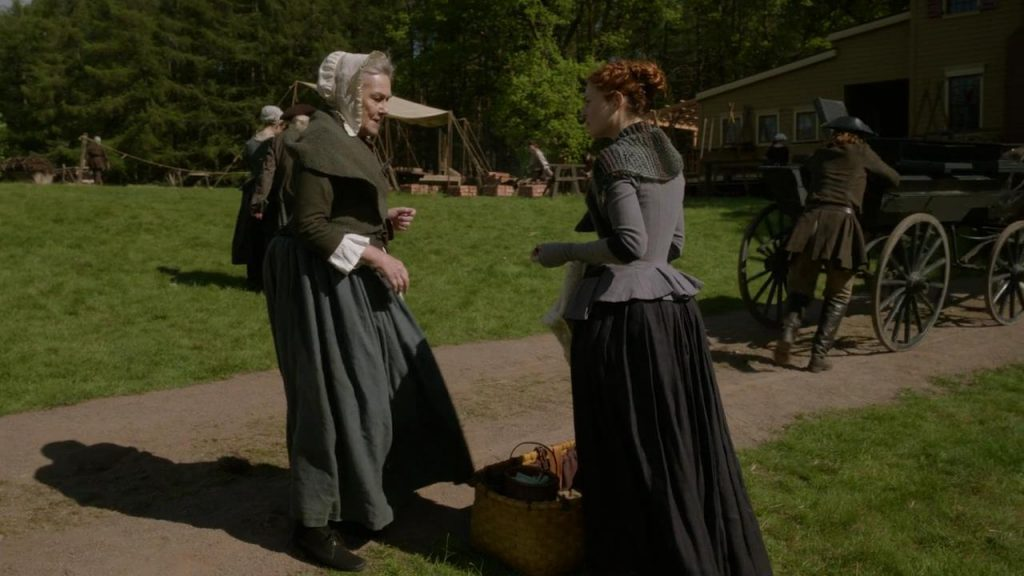 Outlander scène coupée saison 5 épisode 4 Bonnet donne une pièce à Jemmy