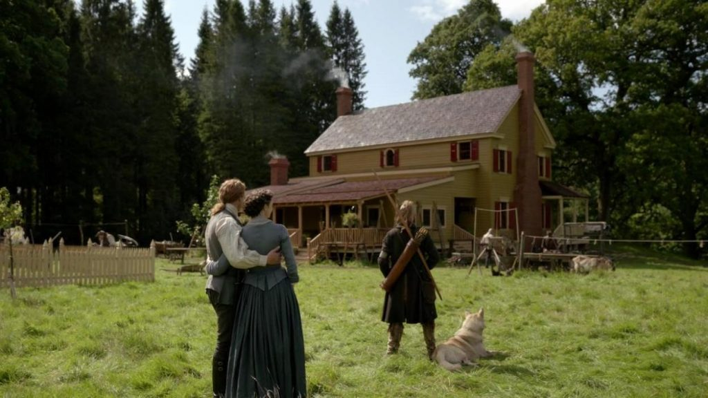 retour de Ian Outlander saison 5 épisode 8