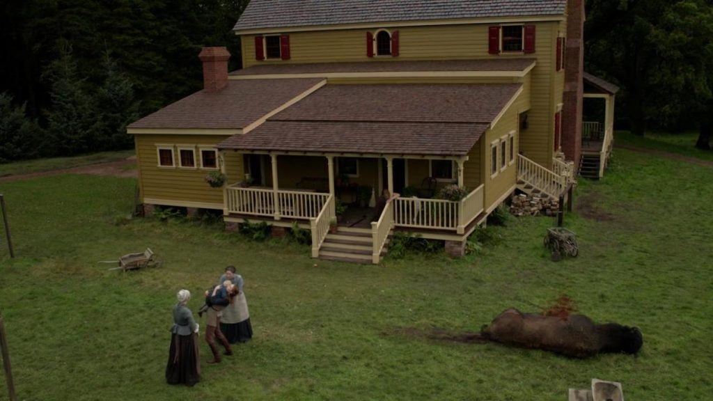 Attaque du bison Brianna episode 9 saison 5 outlander