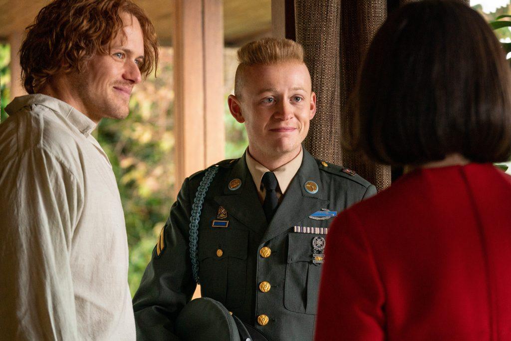 Outlander never my love Ian en militaire