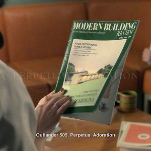 Outlander 505 perpétuelle adoration maison moderne