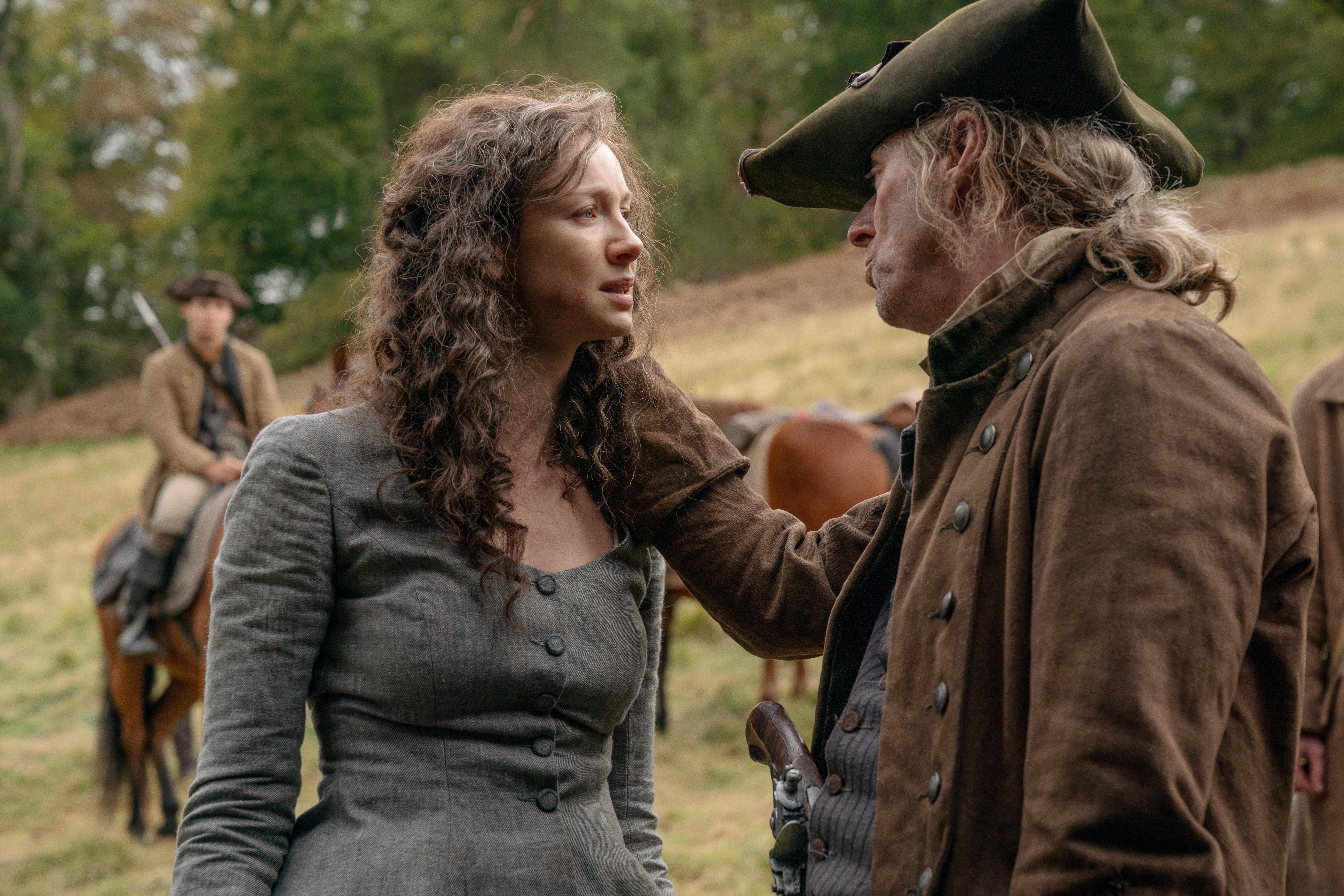 Outlander episode 12 saison 5 scène coupée