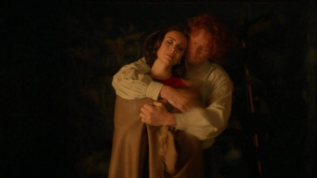 Outlander never my Love Claire et Jamie