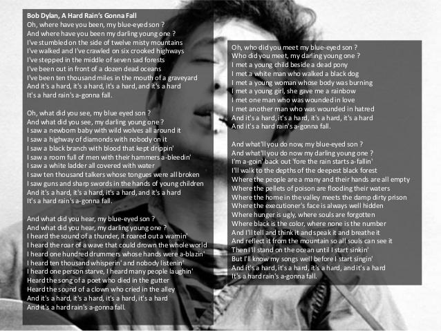 Outlander saison 3 épisode 4 paroles Bob Dylan