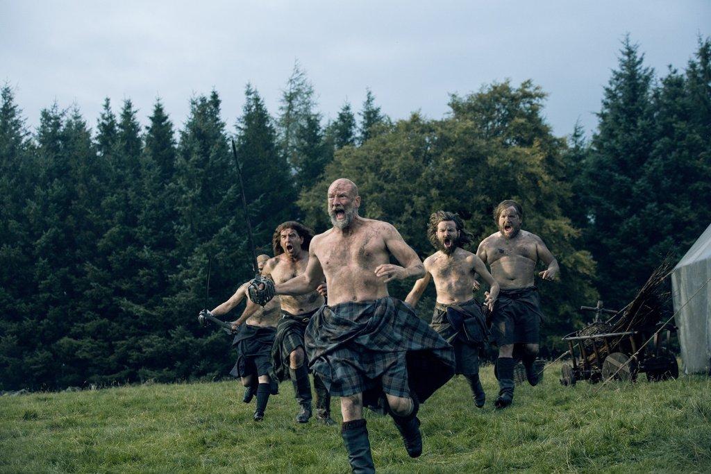 fureur Dougal Outlander saison 2