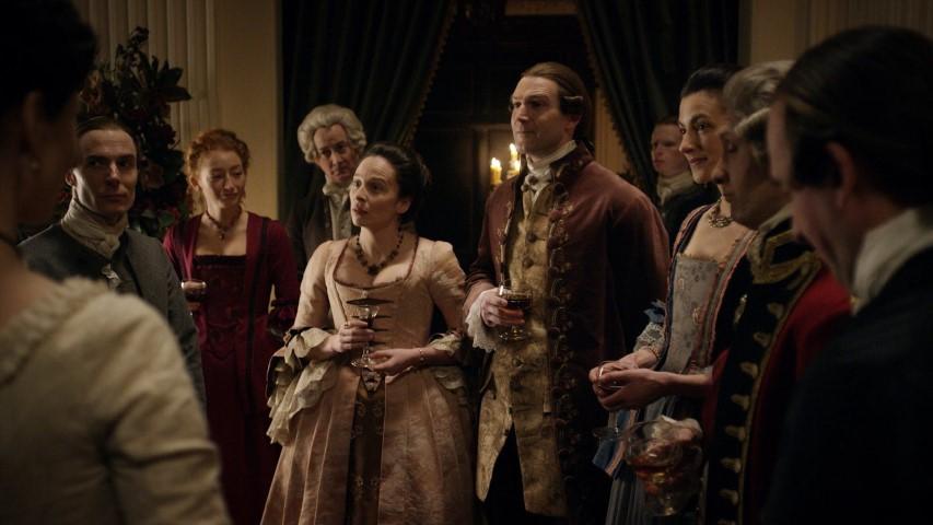 outlander rencontre George Washington saison 4 episode 8