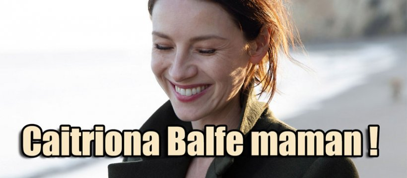 Caitriona-Balfe-maman-bébé
